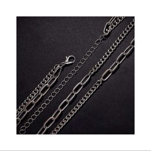 ❝ layered chain necklace ❞